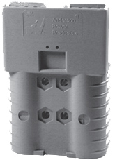 ANDERSON CONNE 350-Amp 2-Pole 2/0