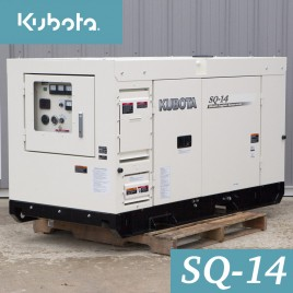14.2 KW, Kubota Diesel Generator, Super Quiet, Single Phase, 120/240V, SQ-14