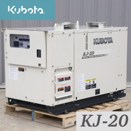 20.6 KW, Kubota Diesel Generator, Single Phase, 120/240V, KJ-20