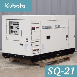 21.6 KW, Kubota Diesel Generator, Super Quiet, Single Phase, 120/240V, SQ-21
