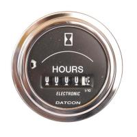 Electric Hour Meter 12/24 volt DC Datcon 1000223